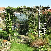Norfolk Cottage Garden - Organic garden design