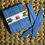Blue Eco-Friendly Wooden Plant and Seed Labels